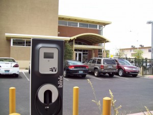 Stupak Community Center on Boston Avenue near Industrial Road provides one SAE J1772 Level 2 EVSE at its parking site.