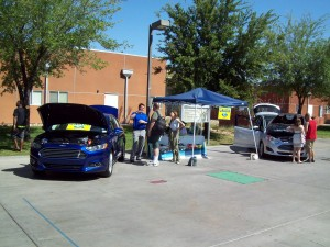 Gaudin Ford Exhibits Ford Fusion Energi plug-in hybrid at GreenFest 2013