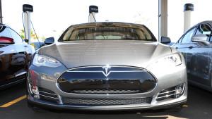 EVITP Tesla Model S Front View 5-22-2013