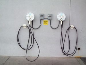 Two Aerovironment AC Level 2 EVSE at Henderson Nissan