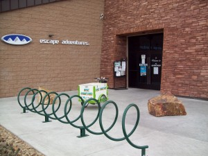 Entrance to Las Vegas Cyclery - Escape Adventures in Summerlin