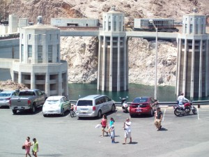Ride The Future Tour stops for lunch and visit to Hoover Dam.