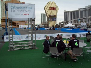 Bosch Driverless Car Experience at CES