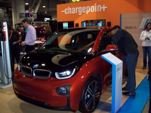 ChargePoint Booth at CES