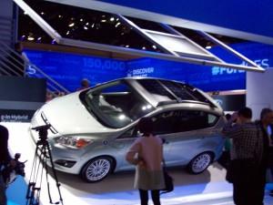 Ford CMax Energi Solar Cell Integration