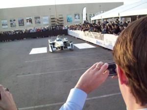Formula E unveiling at Mandalay Bay Resort with Formula 1 driver Lucas di Grassi.