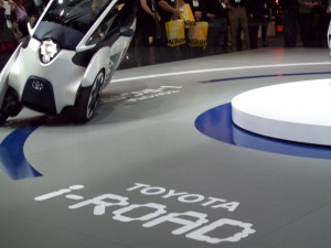 Toyota iROAD with Active Lean Suspension