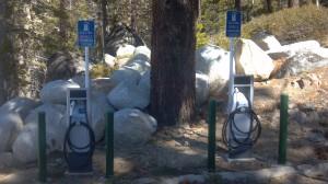 Diamond Peak EV recharging station