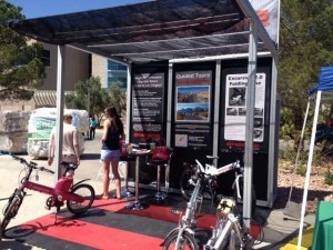 Energie Cycles booth