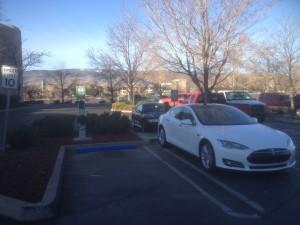Meadowwood Mall EV charging stations.