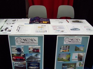 NEVA booth at National Fire Protection Association Conference & Expo at Mandalay Bay Convention Center in Las Vegas