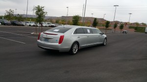 MGM Resorts International CNG-powered Cadillac CTS Stretch Limousine