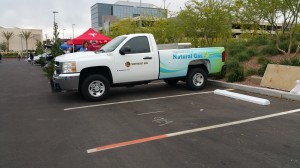 Southwest Gas CNG-powered Pickup Truck