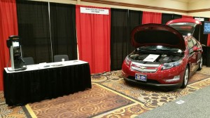 NEVA booth exhibit within Alternative Fuel Vehicle Showcase at NFPA 2016 in Las Vegas