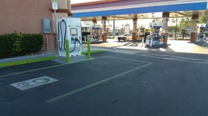 Terrible Herbst has installed a dozen NRG eVgo DC Fast Charge stations at service stations and convenience stores in the Las Vegas valley.