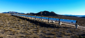 Hyperloop One DevLoop Test Track in North Las Vegas, NV.