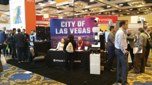 City of Las Vegas exhibit in Smart Cities Pavilion of CES 2018 at Westgate Hotel.