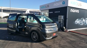 NAVYA has partnered with Keolis to integrate autonomous shuttle buses and robotaxis into the Las Vegas Innovation district.
